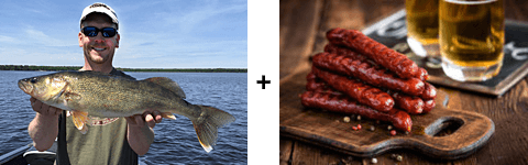 Minnesota Fishing Opener - Brats and Beer at Georgenes Haven on Bowstring Lake